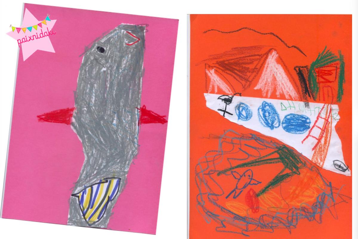 Καλλιεργήστε τη φαντασία του παιδιά σας με μια σελίδα Α4!