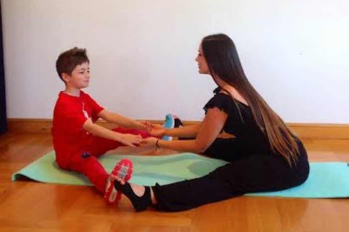 Γυμναστείτε με το παιδί σας!