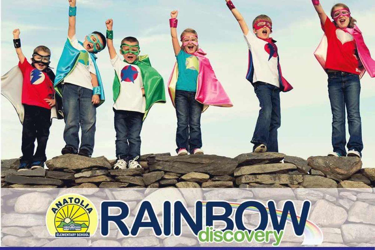 ΕΛΗΞΕ: Κερδίστε μία συμμετοχή στο Rainbow Discovery  του Κολλεγίου Ανατόλια!