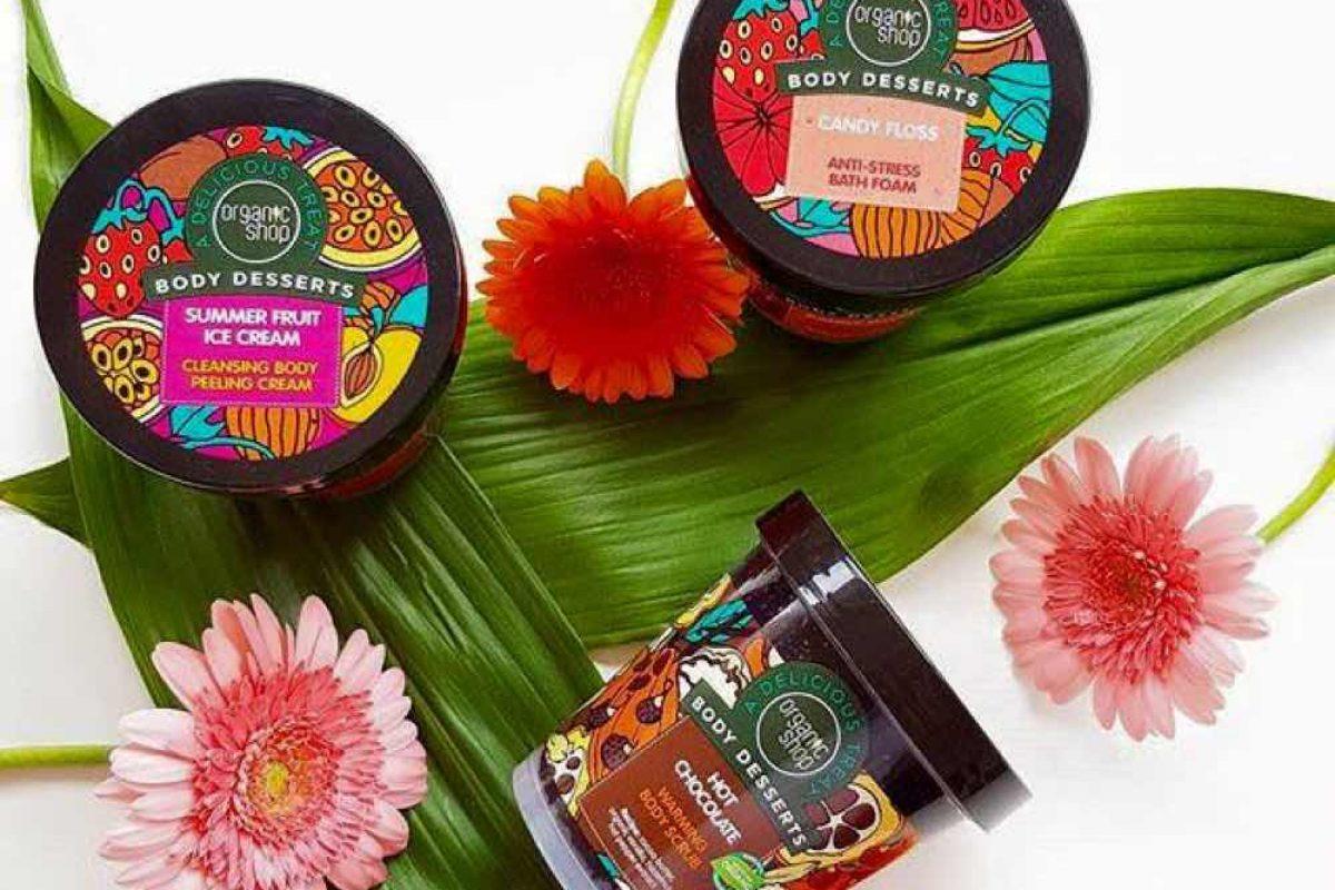 Τα Body Desserts της Organic Shop είναι η νέα μας μανία!