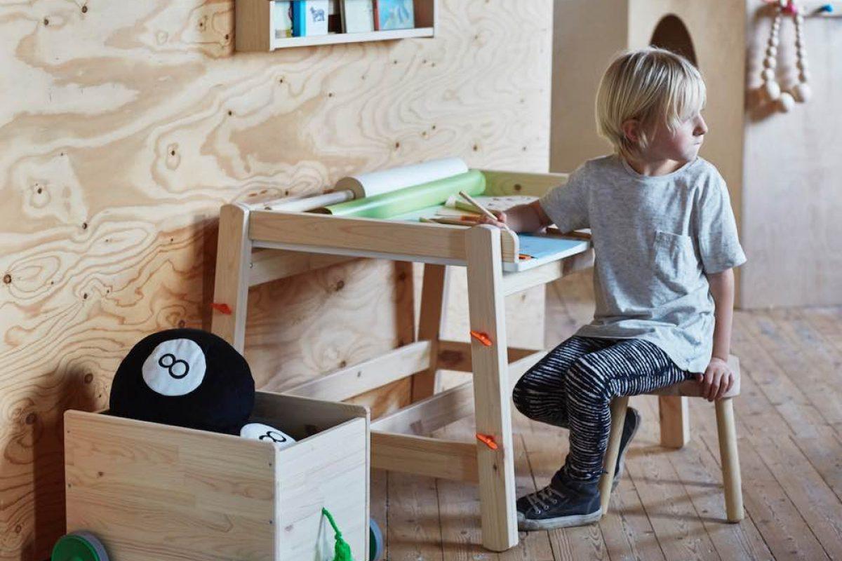 Ψάχνεις το τέλειο γραφείο για το παιδί σου; Το FLISAT είναι η νέα πρόταση της Ikea!
