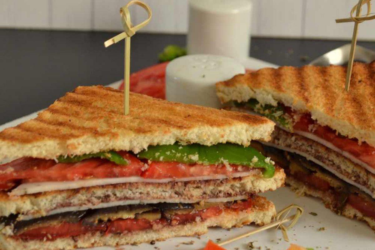 Μεσογειακό κλαμπ σάντουιτς!