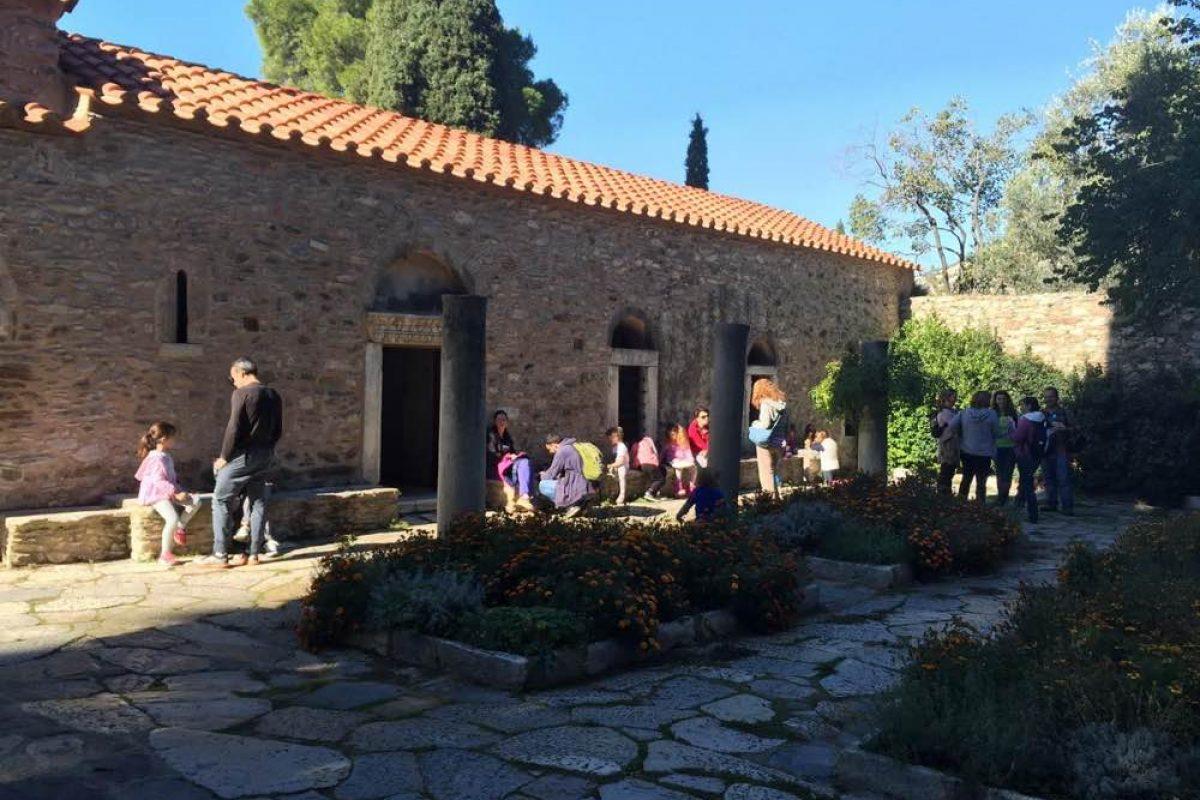 Μια μέρα στη Μονή Καισαριανής με τη Φιλοδασική!