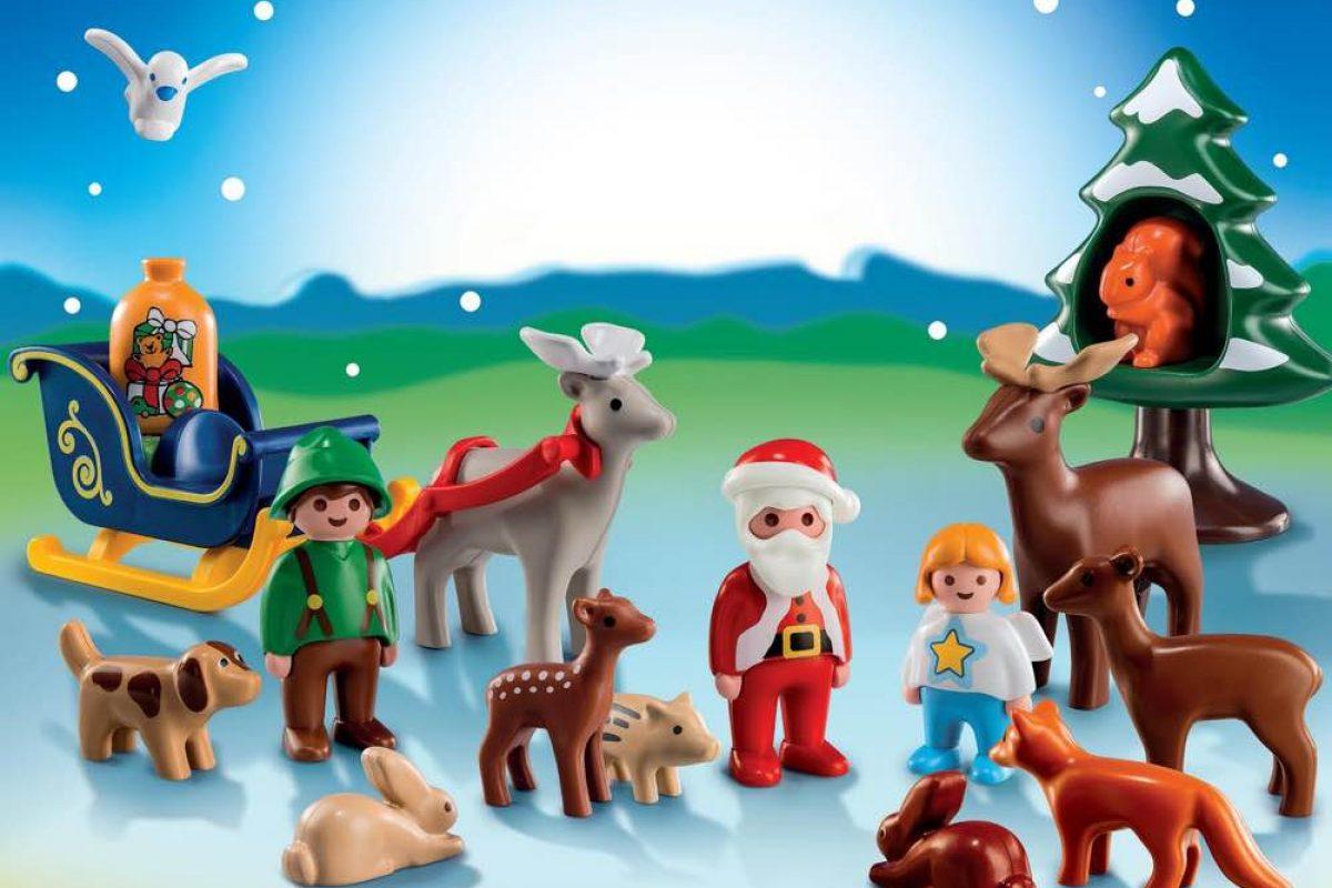 ΕΛΗΞΕ: Κερδίστε 5 σετ «Χριστούγεννα στο δάσος» της σειράς PLAYMOBIL 1.2.3!