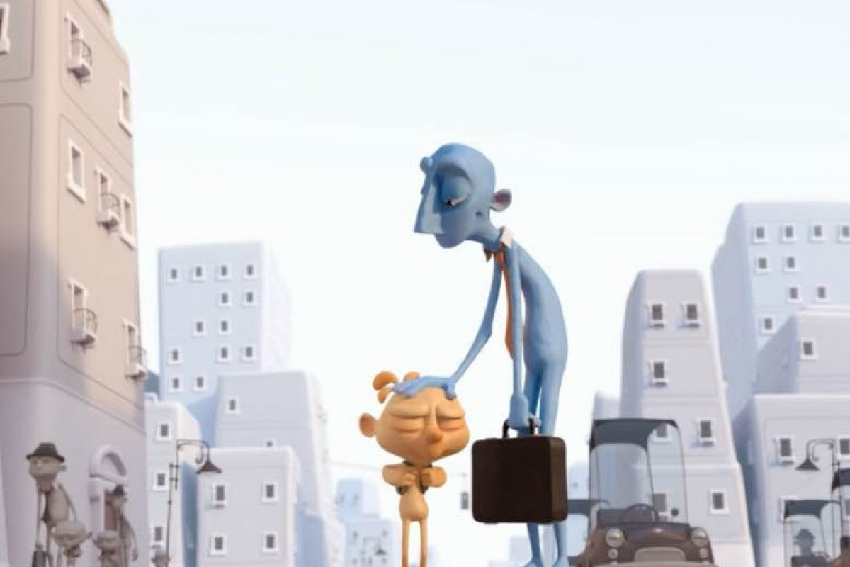 O Copy και ο Paste: Ένα animation για τη σχέση πατέρα – γιου