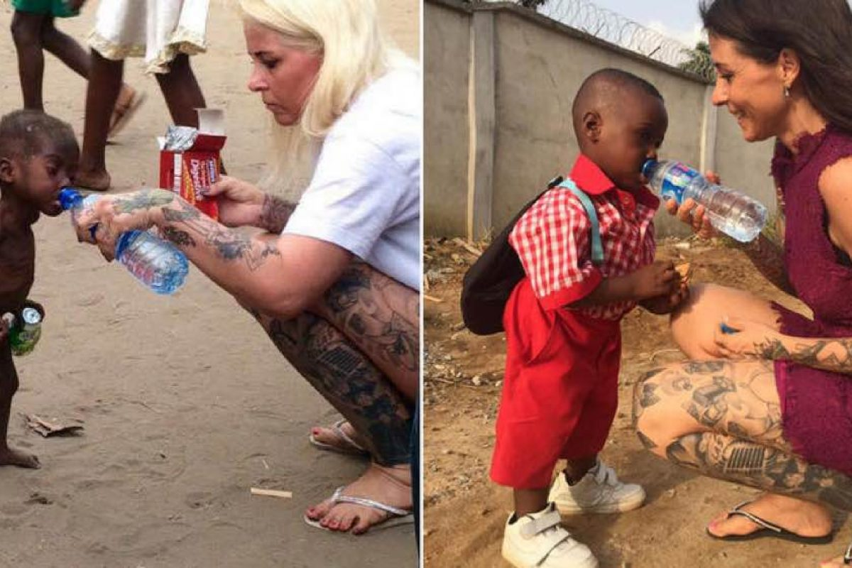 Πρώτη μέρα στο σχολείο για το αγόρι που το εγκατέλειψαν επειδή ήταν «μάγος»