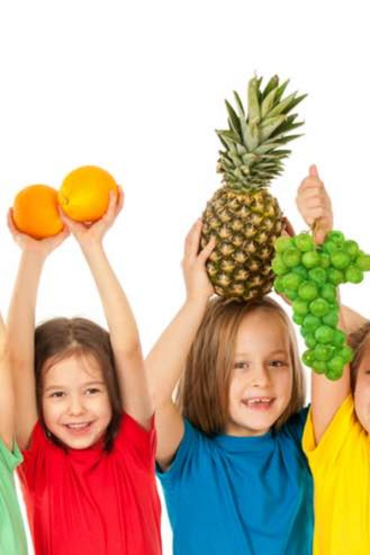Φρούτα και λαχανικά για παιδιά