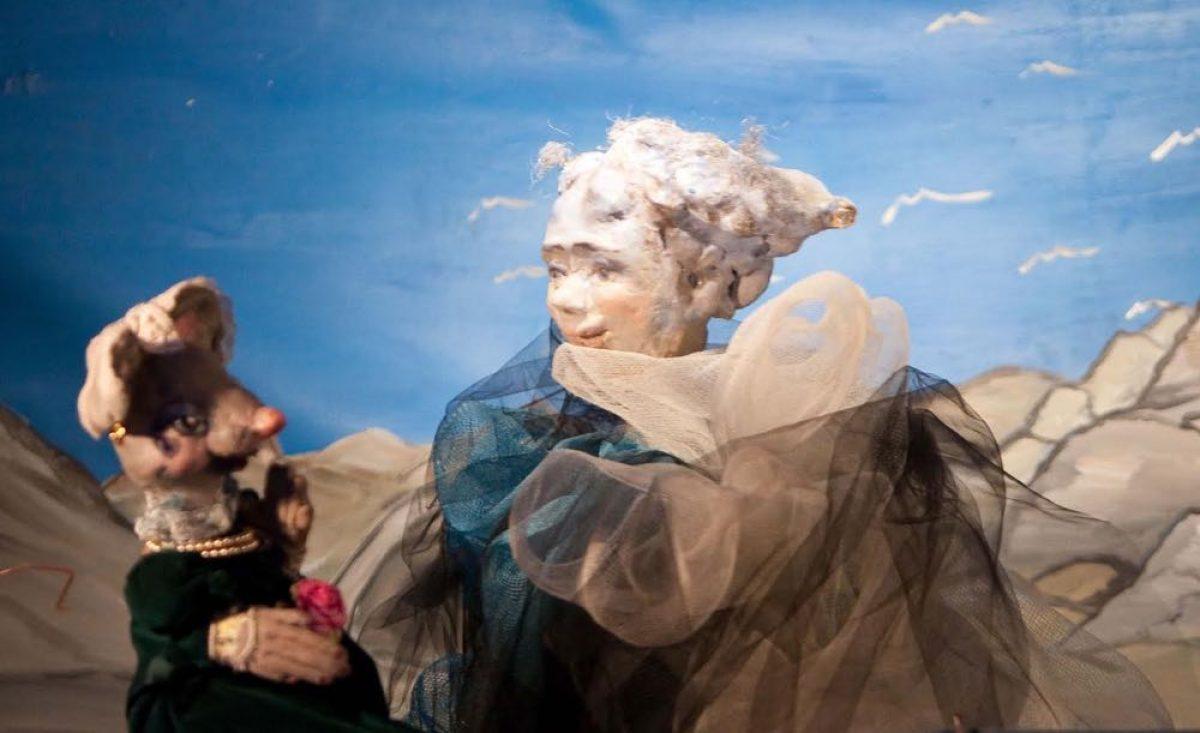 O ποντικός και η θυγατέρα του από το Κουκλοθέατρο Χριστίνας Μπήτιου