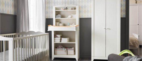 Γιατί να επιλέξεις λευκά έπιπλα για το δωμάτιο του μωρού σου