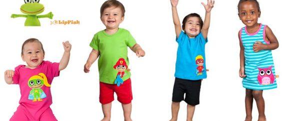 Lipfish: τα πολύχρωμα, οργανικά ρουχάκια που λατρεύουν γονείς και παιδιά!