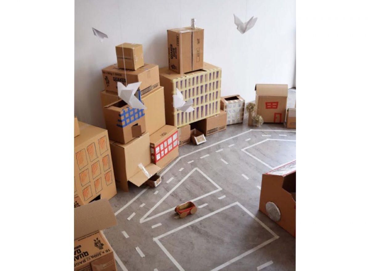 Χάρτινη Πόλη | Μια πόλη φτιαγμένη από τα παιδιά, για τα παιδιά!